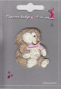 "MOTIF THERMOCOLLANT  ""LAPIN"""