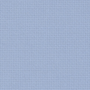 Coupon toile Fein Aida Zweigart 7 points  48x53cm Bleu