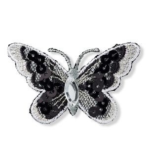 ECUSSON MOTIF BRODE THERMOCOLLANT PAPILLON