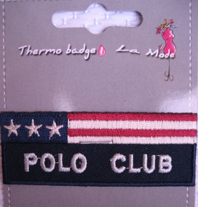 MOTIF THERMOCOLLANT  Polo club americain