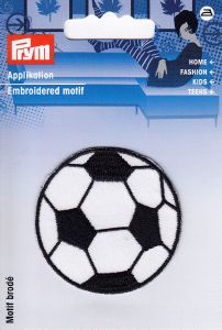 "MOTIF ECUSSON THERMOCOLLANT  ""Balllon de foot"""