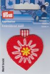 "MOTIF ECUSSON THERMOCOLLANT  ""Coeur"""