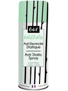 SPRAY ANTI-ELECTRICITÉ  STATIQUE ODIF - ANTISTATIC