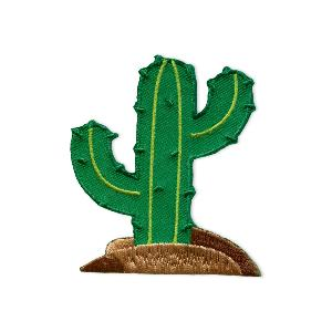 MOTIF ECUSSON THERMOCOLLANT CACTUS