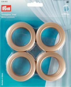Oeillets à rideaux 40mm or mat