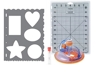 Shape Cutter Plus FISKARS + Set de départ