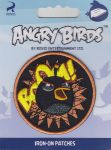 "MOTIF ECUSSON THERMOCOLLANT  ""Angry Birds TM"" - Oiseau noir"
