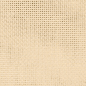 Coupon toile zweigart 5.4 points  48x53cm Beige Moyen