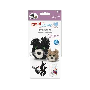 GABARIT POUR POMPON CHAT - PRYM LOVE