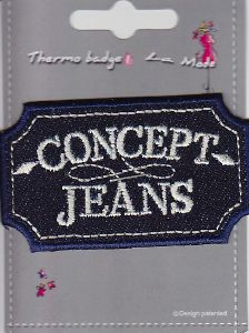 "Ecusson thermocollant ""Concept Jeans"""