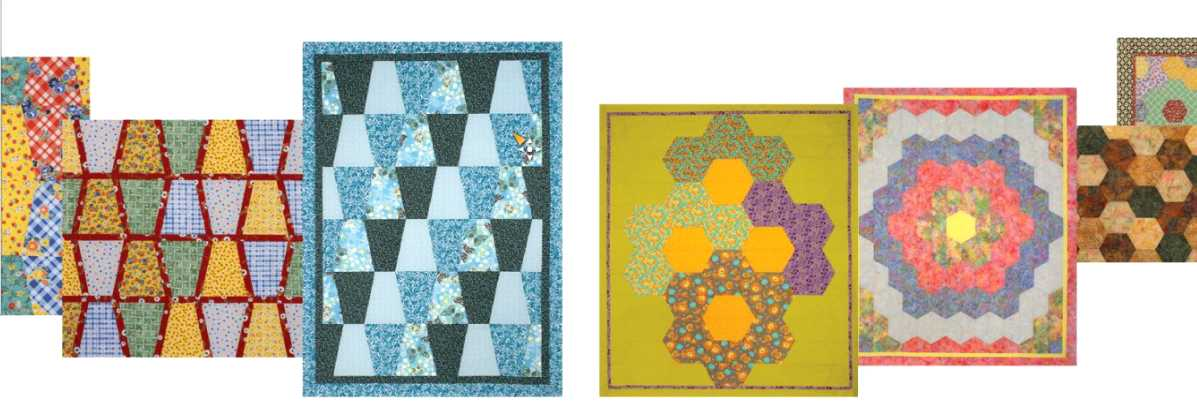 gabarits pour le patchwork grandmother 39 s one patch collection mercerie en ligne durand avignon. Black Bedroom Furniture Sets. Home Design Ideas