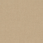 Coupon toile Zweigart LUGANA 10Fil/cm  48x68cm Beige