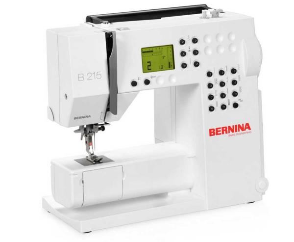 Machine à coudre électronique BERNINA 215 #