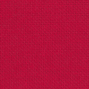 Coupon toile Fein Aida Zweigart 7 points  48x53cm Rouge