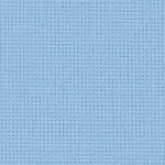 Coupon toile zweigart 5.4 points  48x53cm BLEU