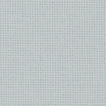 Coupon toile zweigart 5.4 points  48x53cm Gris Clair