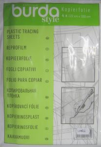 Film en plastique ReproFilm BURDA 1021 ( 4 calques )
